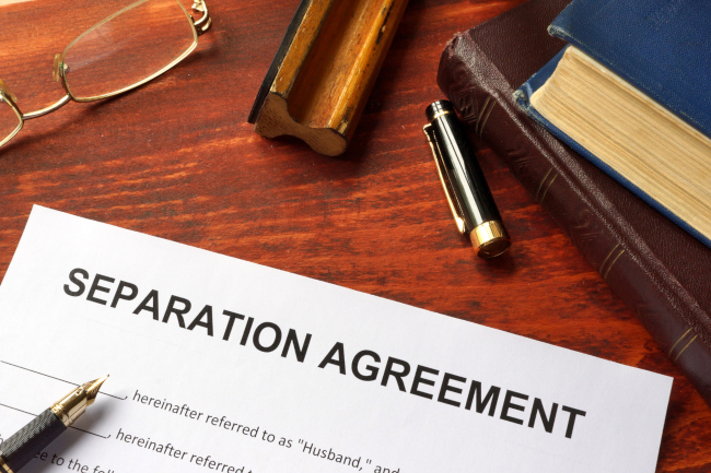 Essential Elements of Any Separation Agreement