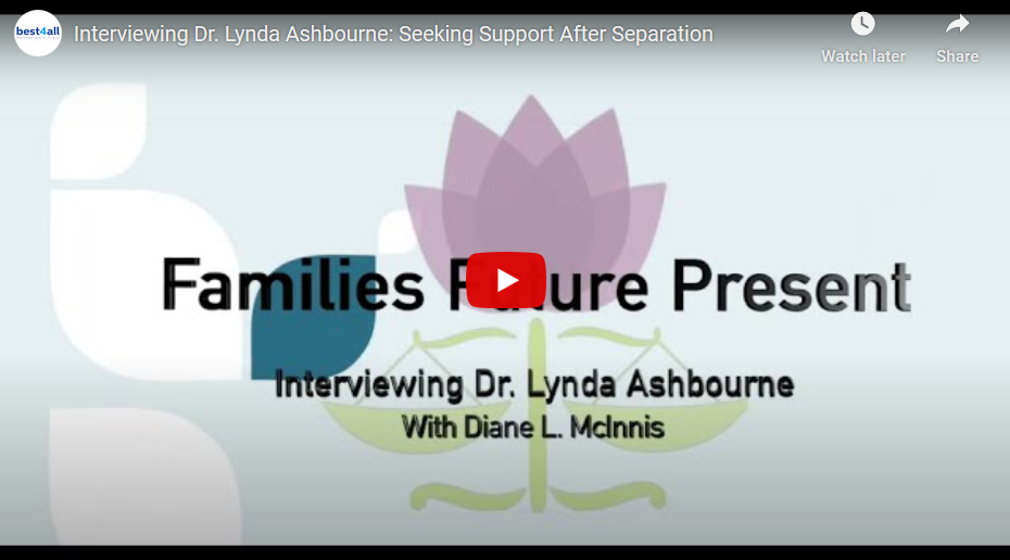 Interviewing Dr. Lynda Ashbourne: Seeking Support After Separation