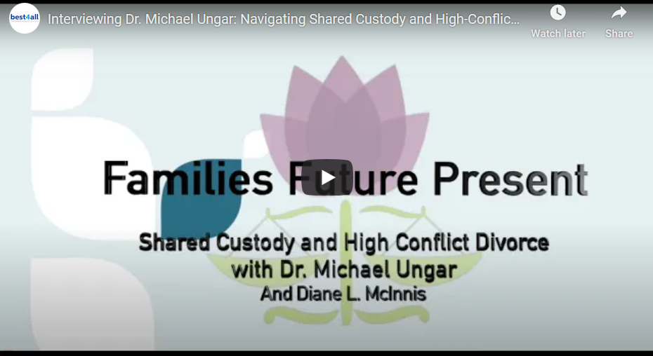 Interviewing Dr. Michael Ungar: Navigating Shared Custody and High-Conflict Divorce